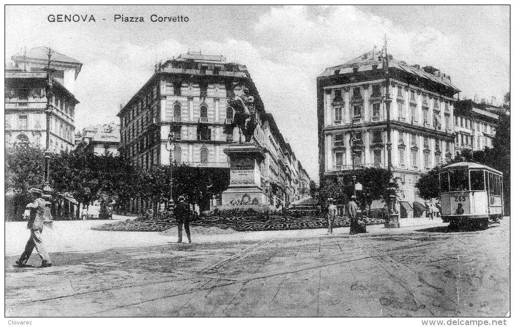 """GENOVA """";Piazza Corvetto"""""""