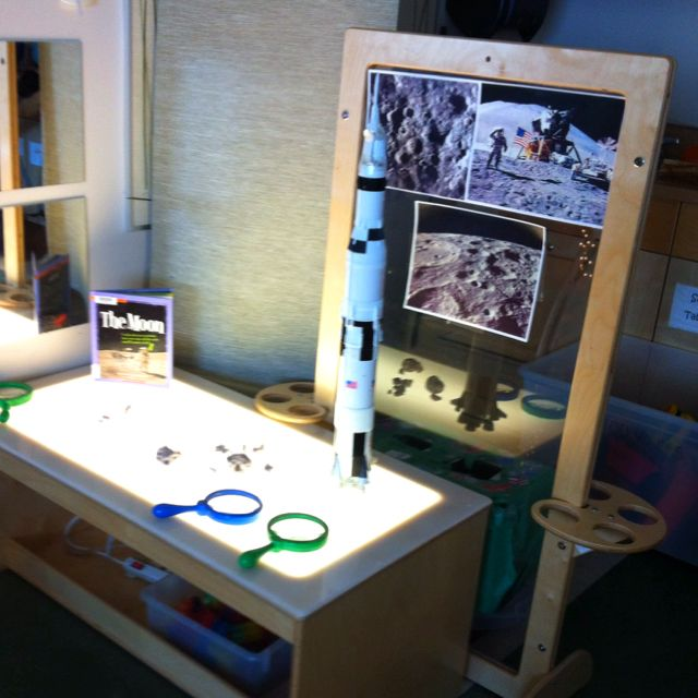 Another Space exploration centre using a light table # ...