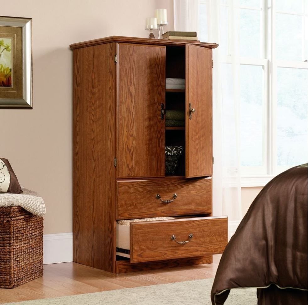 Armoire For Clothes Storage