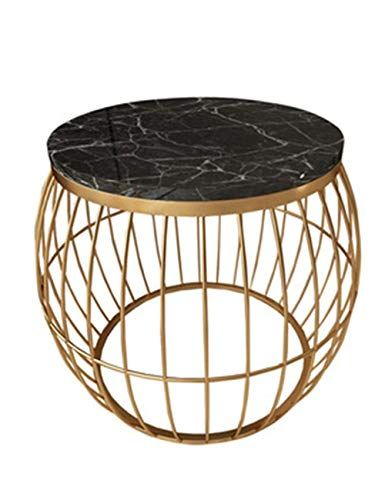 Round Coffee Table/Marble Side Table, Modern Living Room