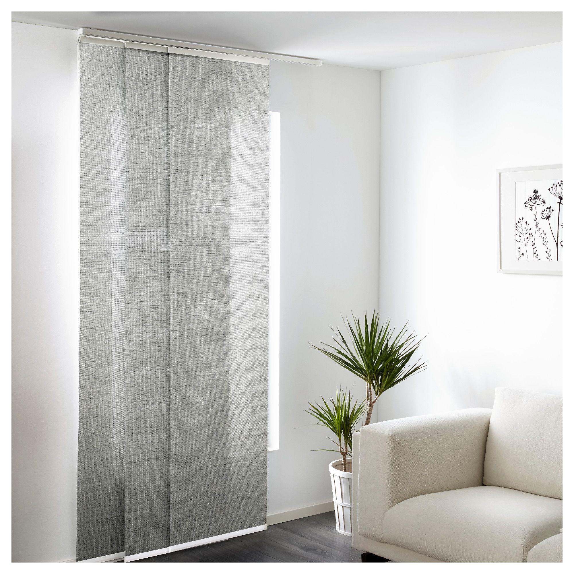 Ikea panel curtains - Anno Sanela Panel Curtain Grey 60x300 Cm