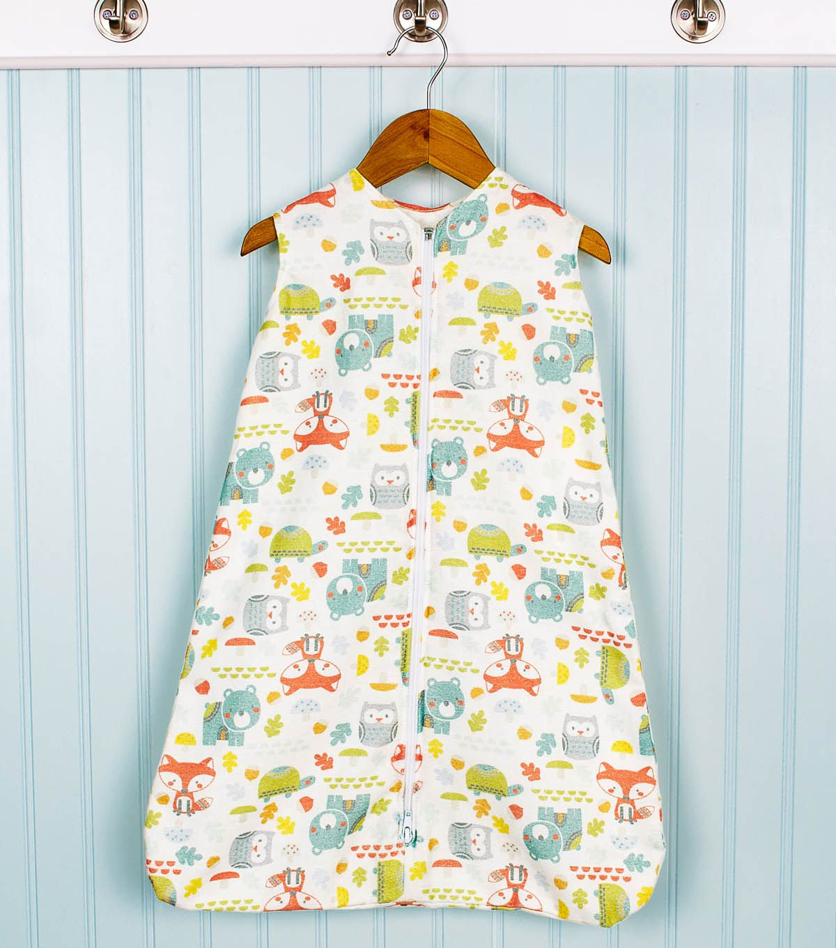 Flannel Bunting with Optional Swaddle Wrap | Baby | Pinterest | Coser