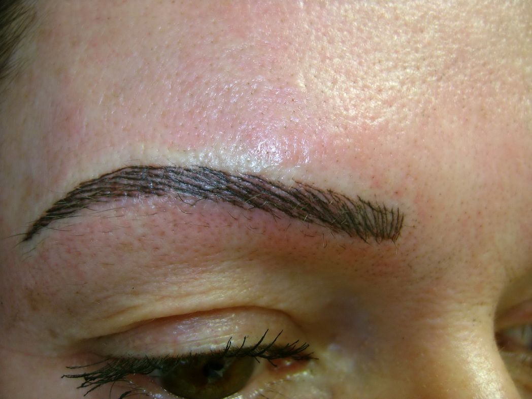 tattooing tattoo correction aftercare » eyebrow-tattoo-before-and ...