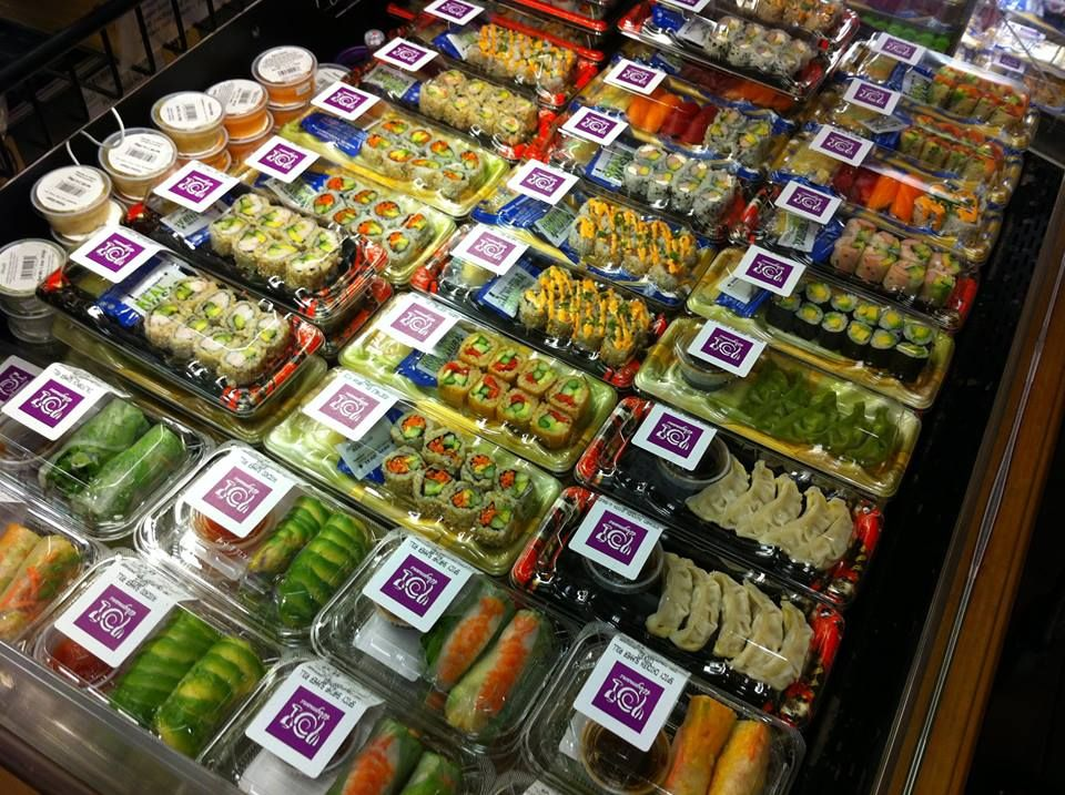 Wegmans sushi looking o so beautiful. Anti oxidant foods