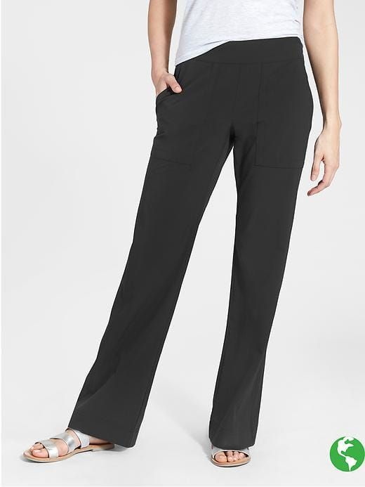 ca18b8747 Athleta - Chelsea Wide Leg Pant. Size 10 Petite in Black