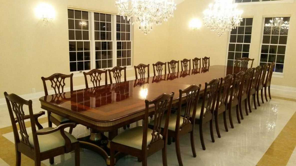 Largediningroomtableseats20Withelegantdesignideas Impressive Big Dining Room Tables Design Ideas