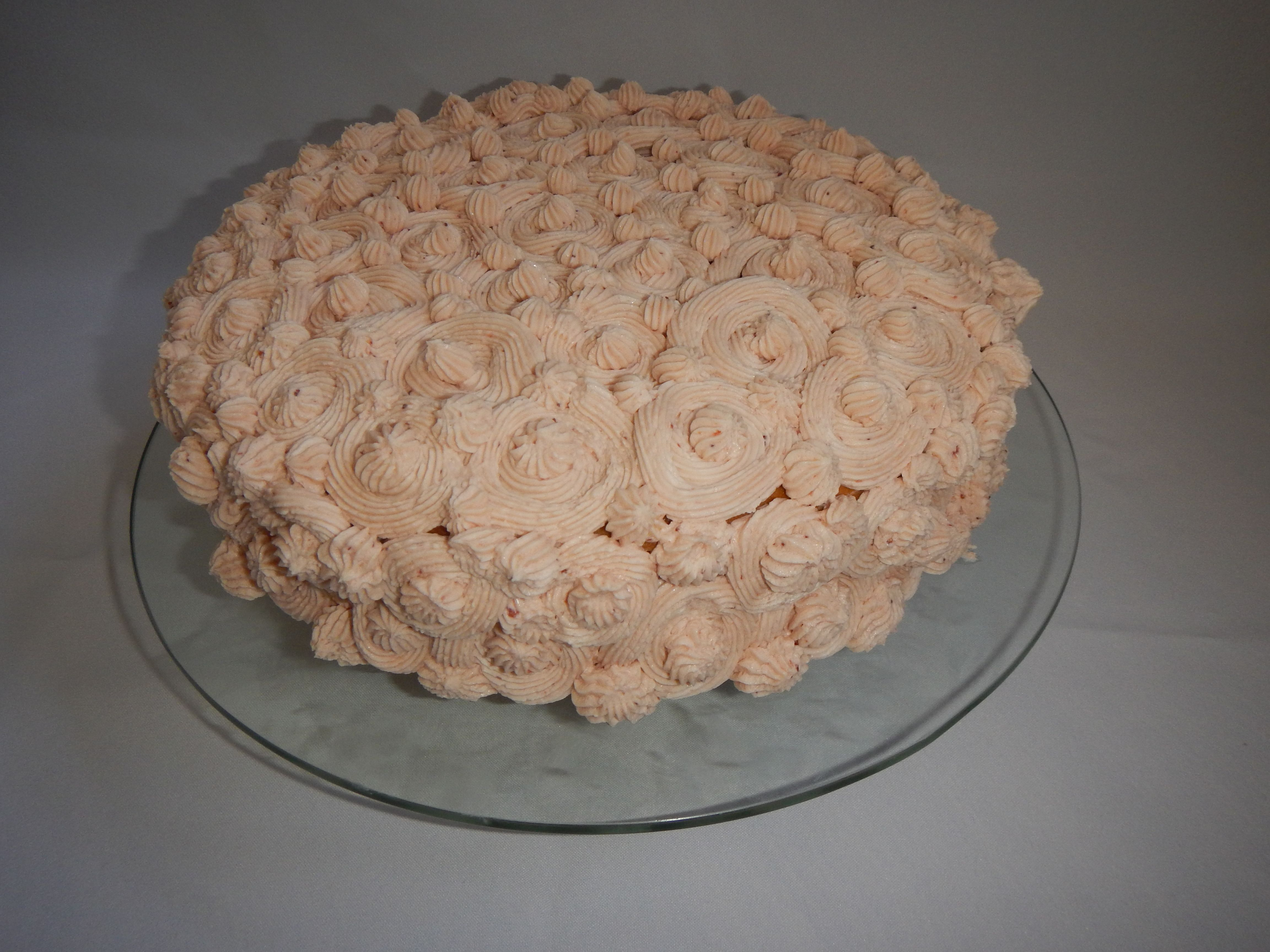 Große Analcreme Kuchen