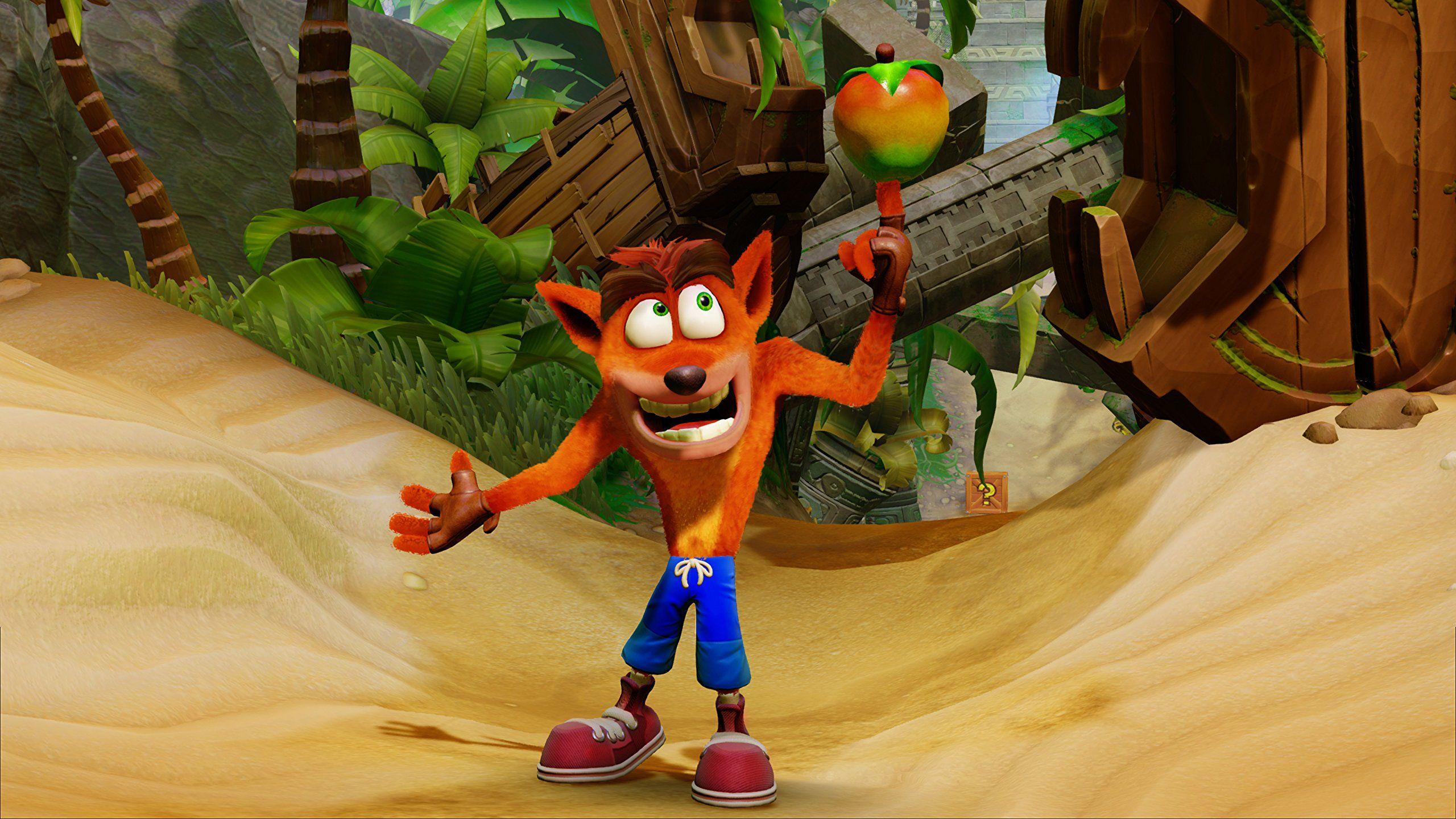 Crash Bandicoot N Sane Trilogy Xbox One Standard Edition Read