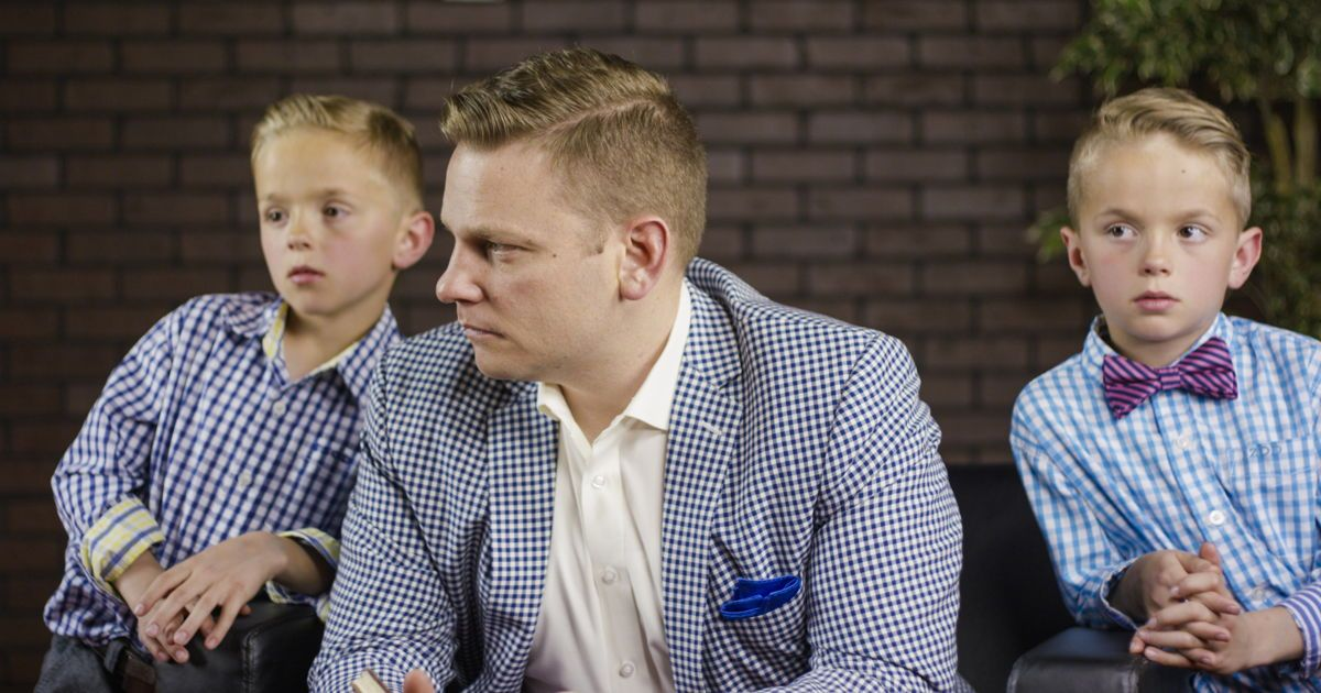 The 4 Characteristics Of A Gentleman That This Dad Is Teaching His Sons