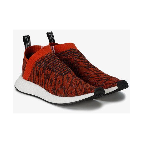 Adidas Originals Red Leopard Nmd Cs2 Primeknit Trainers