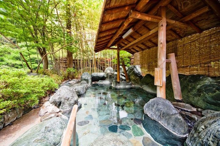 The family-run Nishiyama Onsen Keiunkan in Kyoto, Japan is a hot springs hotel that has been operated by 52 generations of descendants for over 1,300 years.