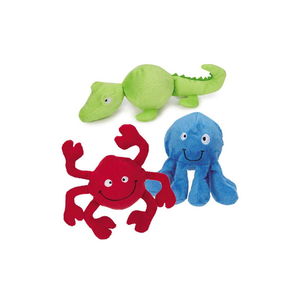 Grriggles® Under the Sea Squeaker Ball Dog Toy at The