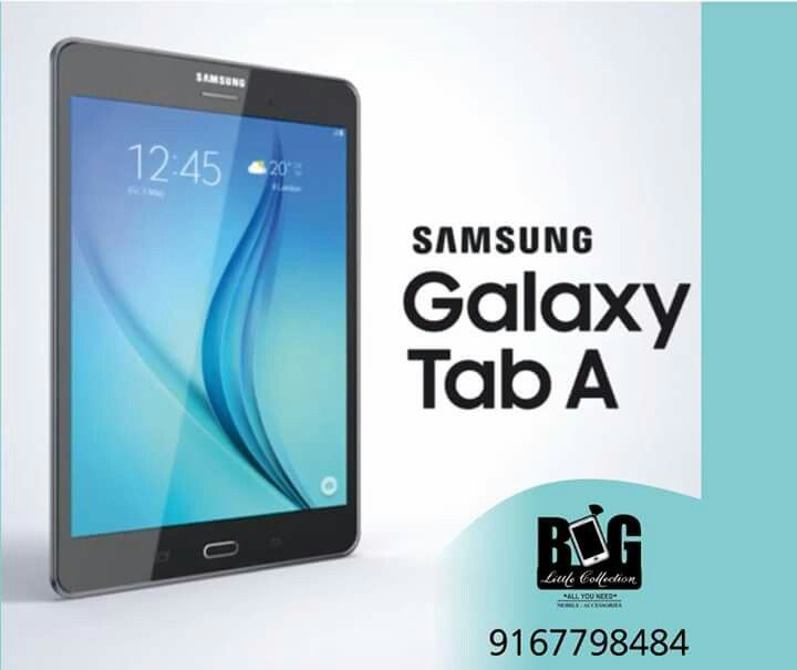 Discover the 8-inch Galaxy Tab A and share content
