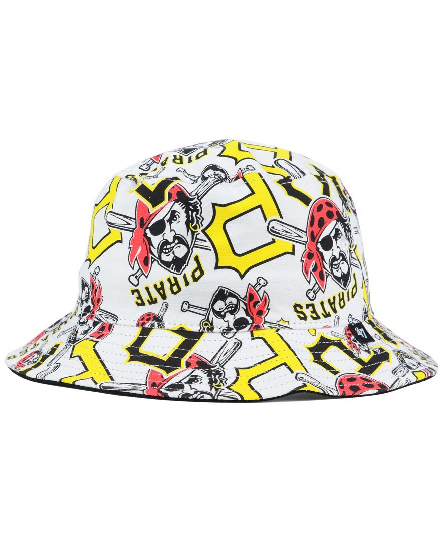 ... official 47 brand pittsburgh pirates bravado bucket hat bb9d0 b0d25 999c1bfe2