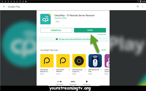 CetusPlay Remote Download & Install – Your Streaming TV | APKS