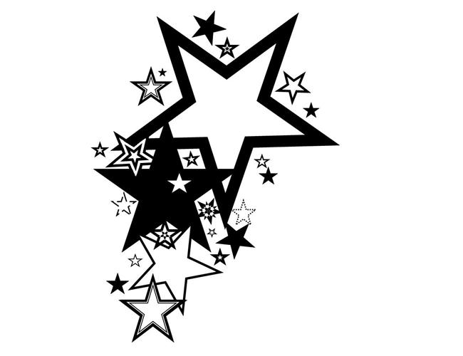 Star Tattoo Star Tattoo Designs Star Tattoos Tribal Tattoo Designs