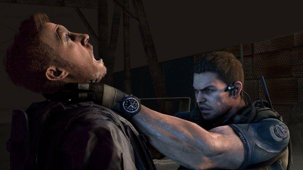 Resident Evil 7 Chris And Resident Evil 6 Chris Pensamentos