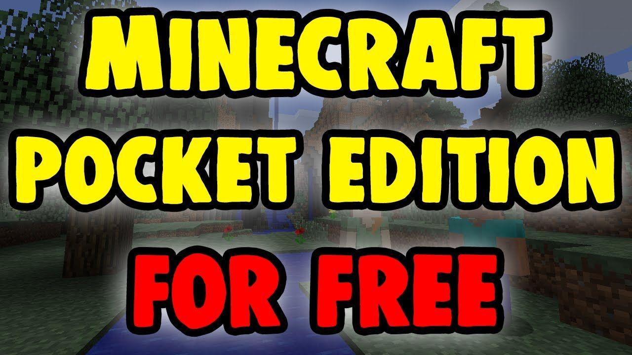 Minecraft pocket edition free download full version ios
