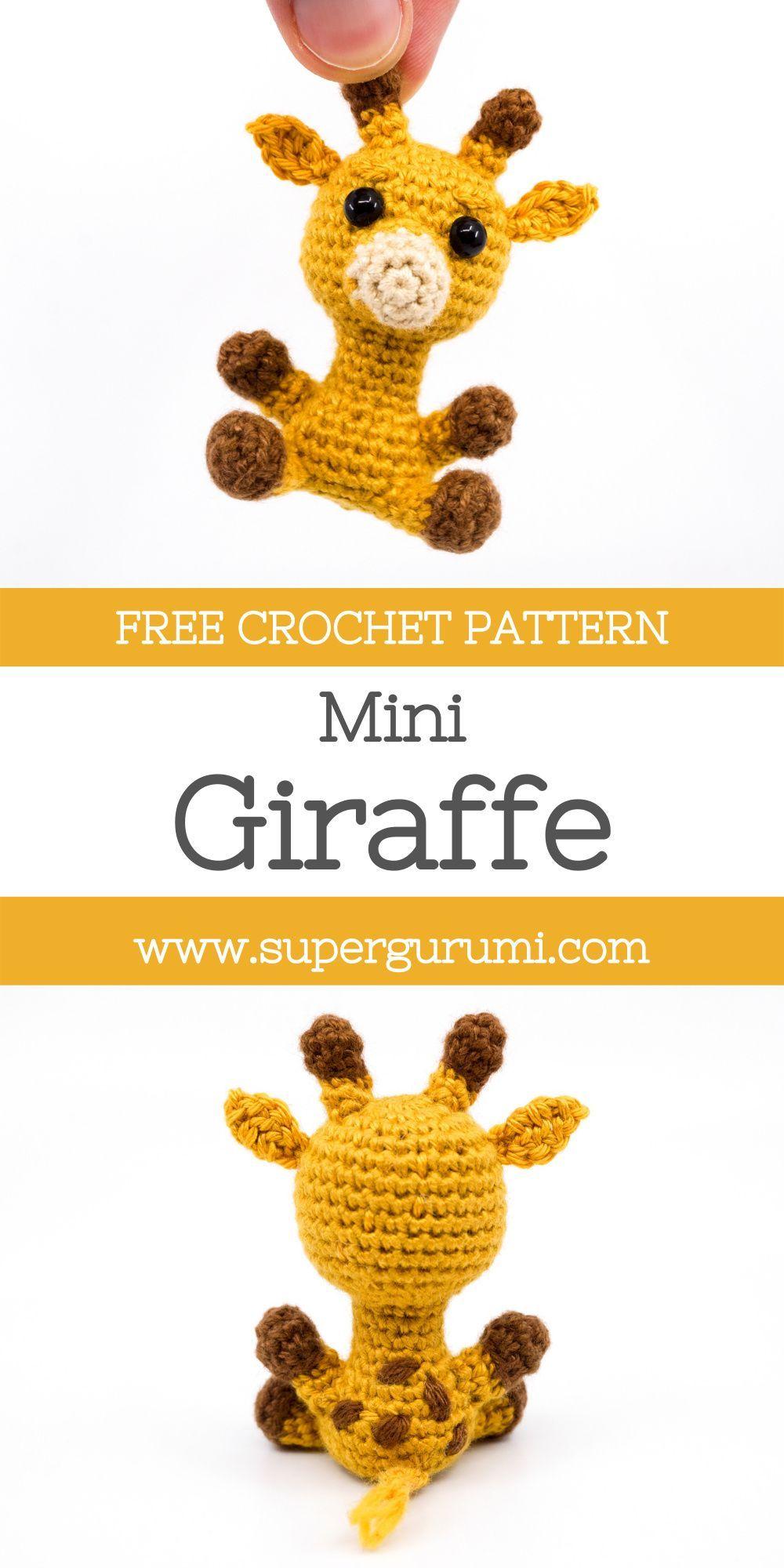 Photo of Mini Amigurumi Giraffe Crochet Pattern