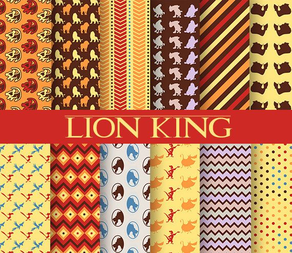 Lion king paper
