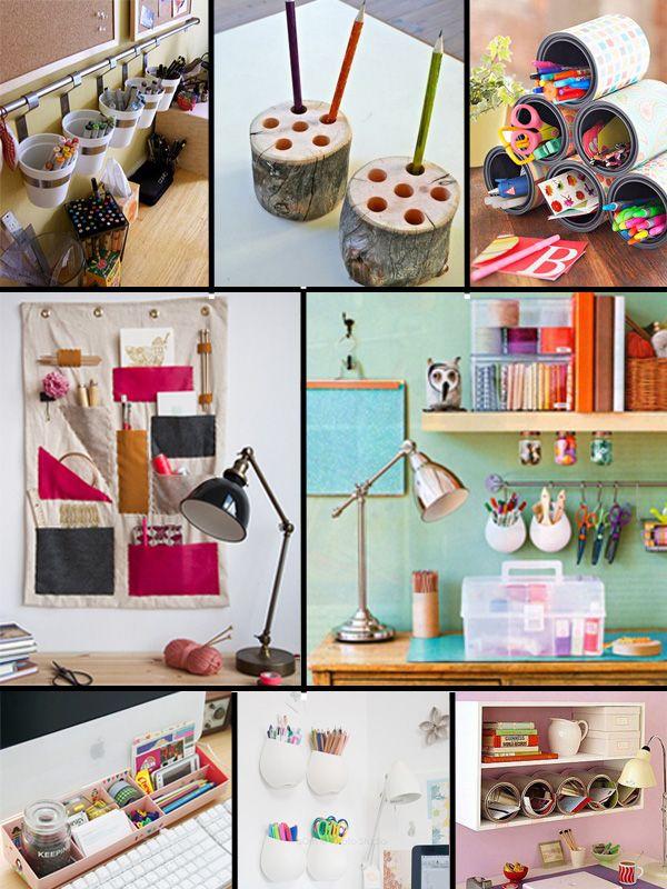 Organizaci n de escritorios proyectos que intentar for Escritorios de hogar