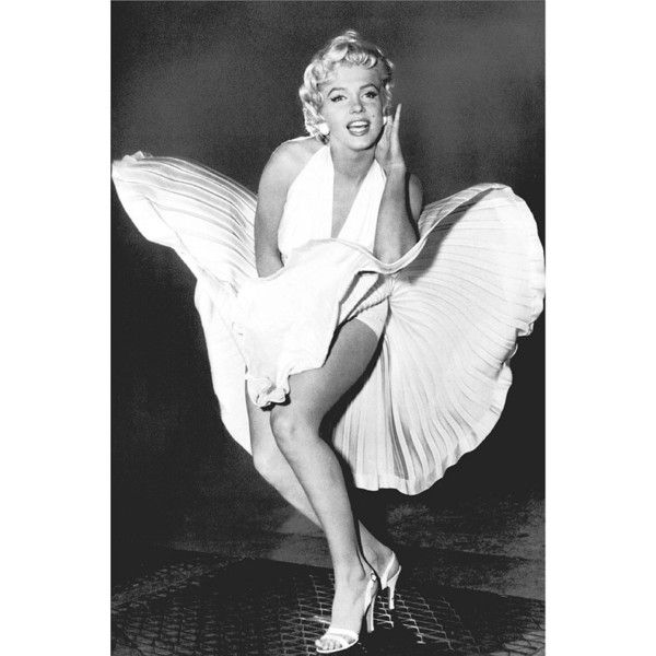 Marilyn Monroe Poster The Legend (24x36 found on Polyvore | Marilyn ...