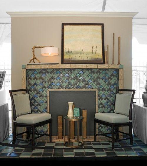 Pewabic Pottery Google Images Pewabic Pottery Eclectic Living Room Living Room Arrangements