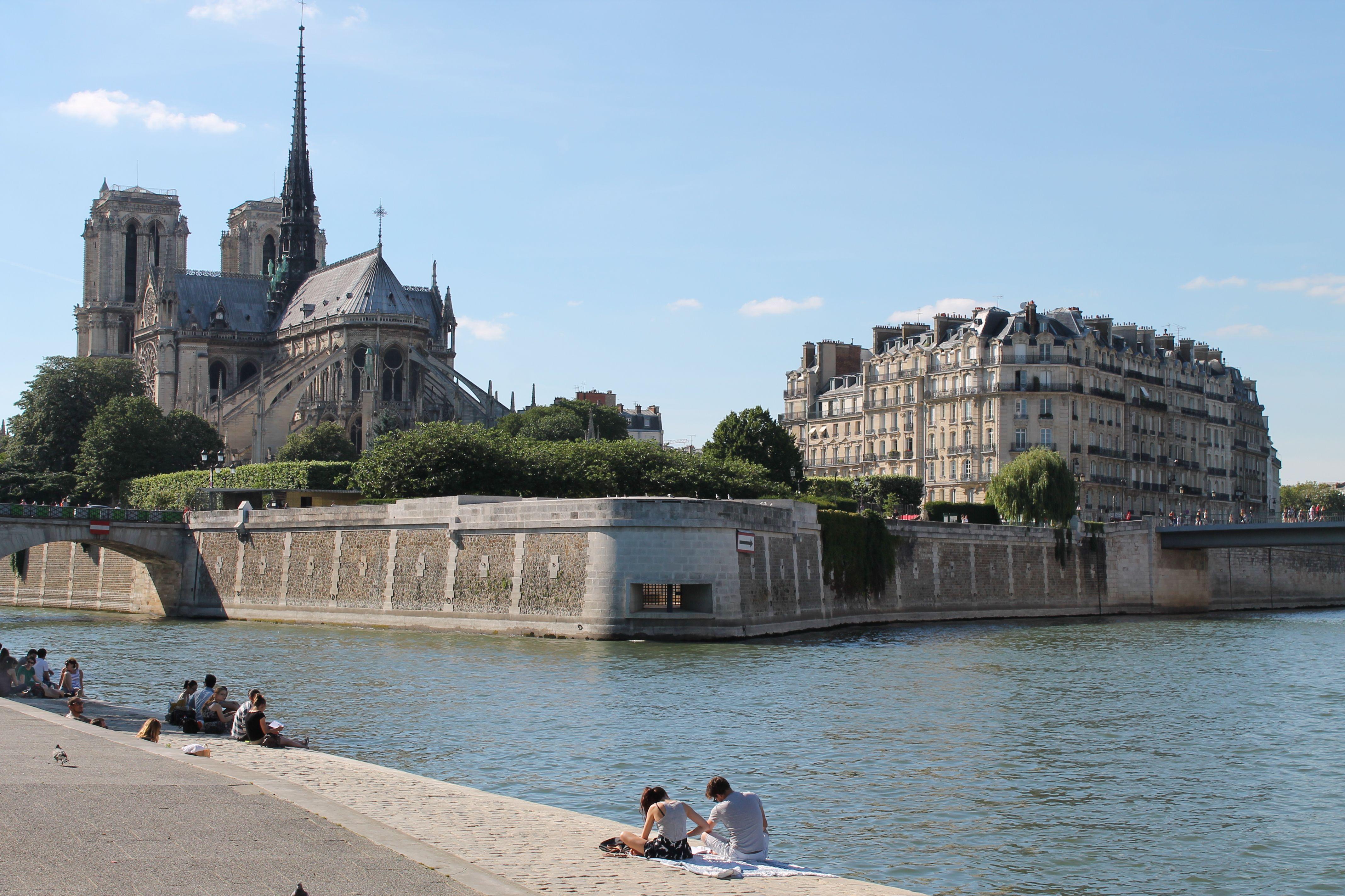 Paris Ile de la Cite, Notre Dame