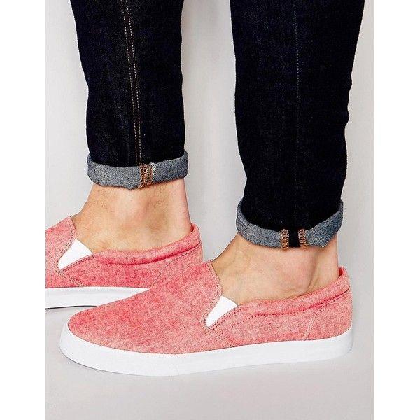 Buy Men Shoes / Asos Plimsolls In Chambray