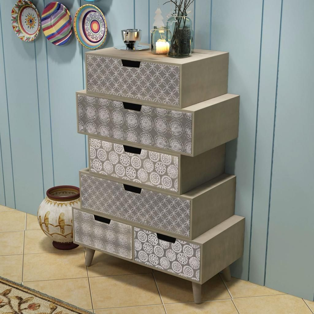Ikayaa side cabinet with drawers storage cabinets for bedroom