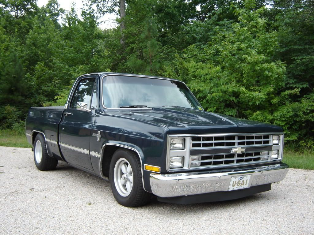 1982 Chevy C10 Silverado Maintenance/restoration of old/vintage vehicles: the ma... -