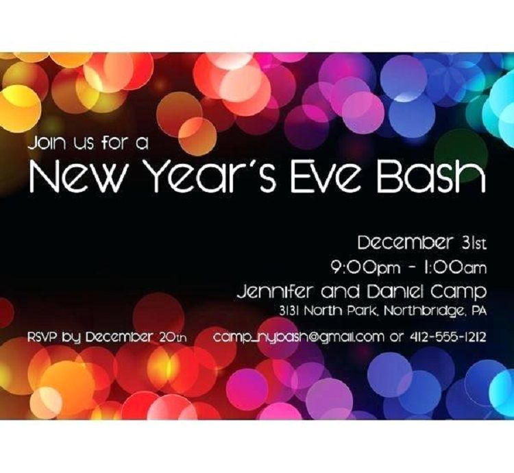 new year party invitation card sample invitation card sample party invitations invitation ideas