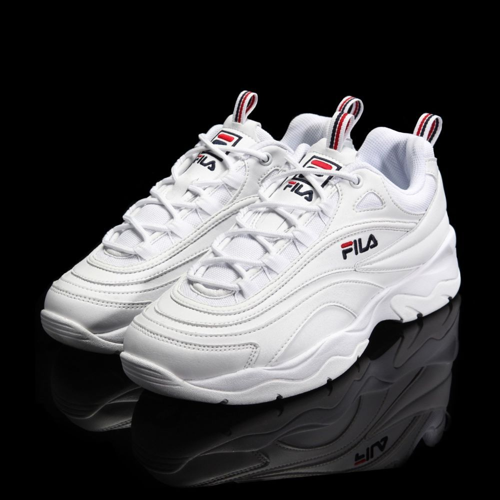 FILA Ray White Authentic Shoes 2018