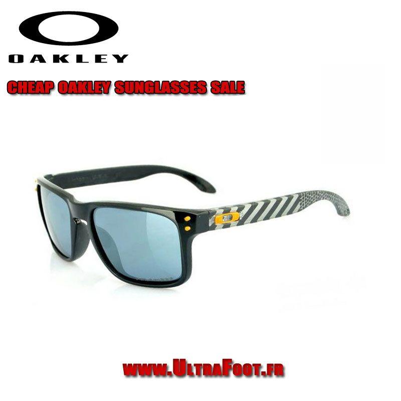 Holbrook De Polished Stripe Oakley Lunettes Noir Soleil Classic uTkPXZiO