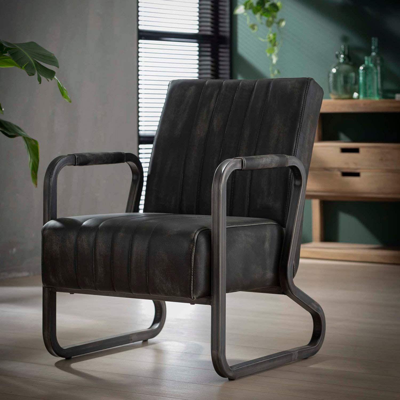Vintage Sessel Kurvengestell Metall Loungesessel Esszimmerstuhl Vintage Sessel Sessel