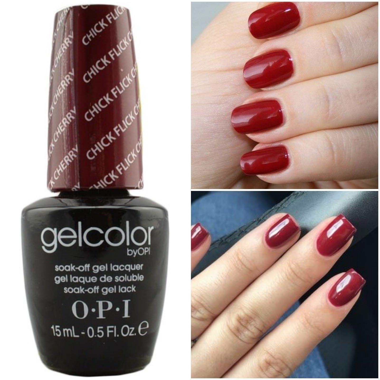 New Opi Gelcolor Soak Off Uv Led Gel Nail Polish 100 Authentic 0 5oz You Choose Nail Polish Opi Gel Nails Gel Color