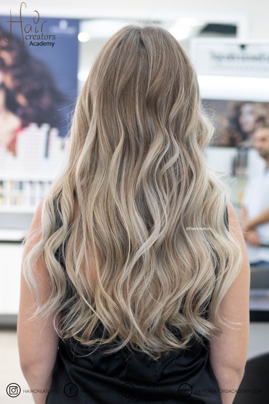 Light Sandy Blonde Shade Blend From Hair Creators Color Team