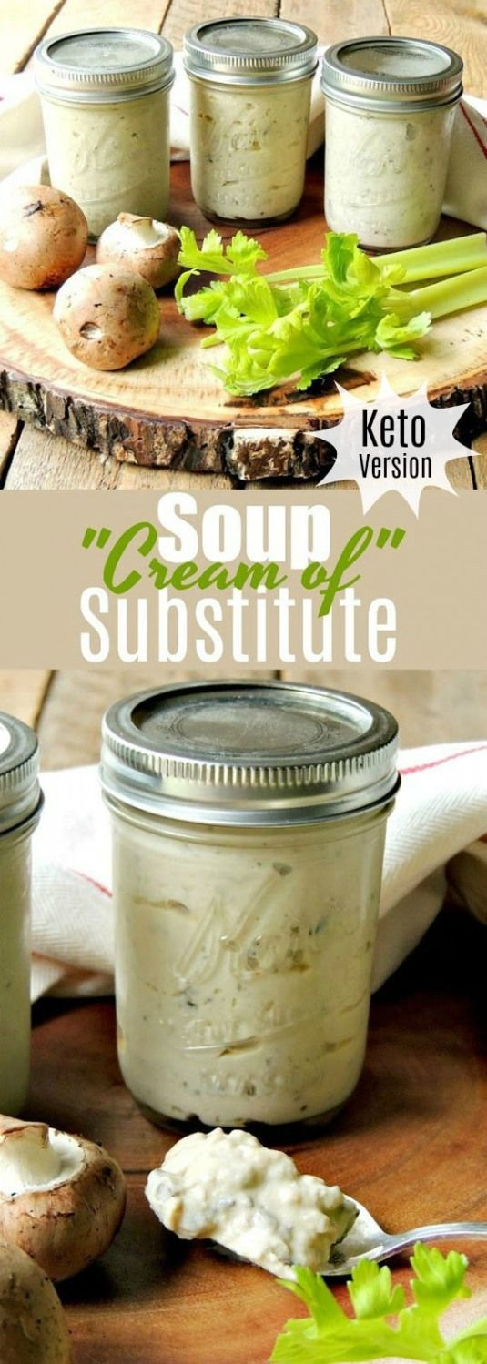 Ditch those store-bought canned soups and give these easy to make Condensed Cream of Soup Substitute Recipes a whirl! Keto version included. |