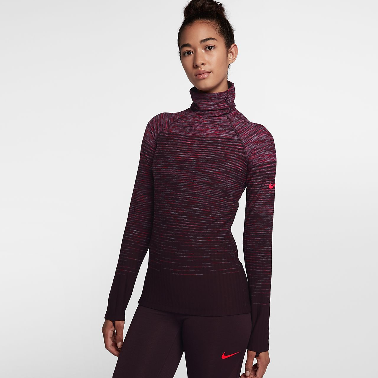 ac02d3ba691ab Nike Pro HyperWarm Women s Long Sleeve Training Top