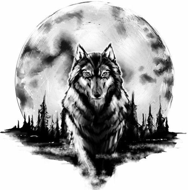 wolf tattoo bedeutung und symbolik pinterest wolf tattoo bedeutung tattoo bedeutungen und. Black Bedroom Furniture Sets. Home Design Ideas