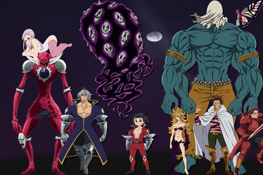 Los 10 Mandamientos Nanatzu No Taizai Anime 7 Pecados Capitales Los Diez Mandamientos Los 10 Mandamientos