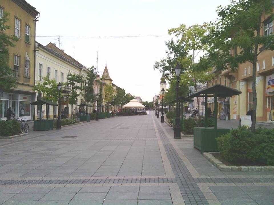 Glavna ulica, Sombor.