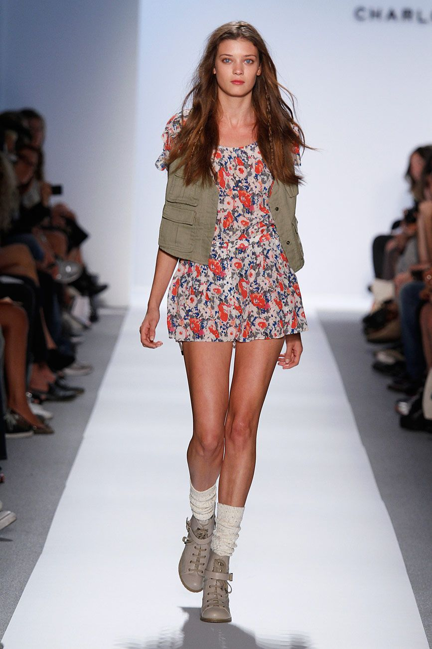 Fashion style Ronson charlotte spring runway for woman