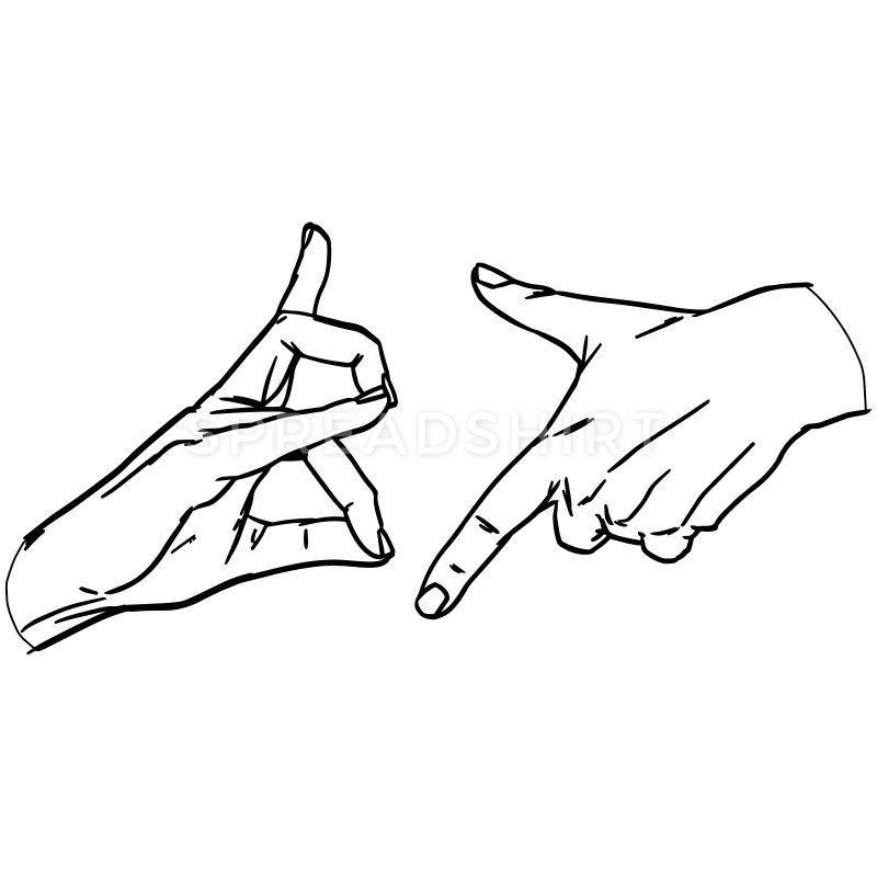 Deutsch Rap Hip Hop 187 Gangzeichen Hand Zeichen Manner Premium T