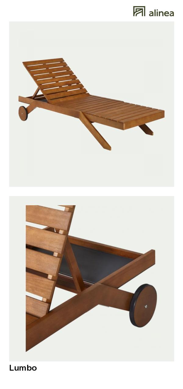 alinea : lumbo transat / bain de soleil en eucalyptus mobilier de ...