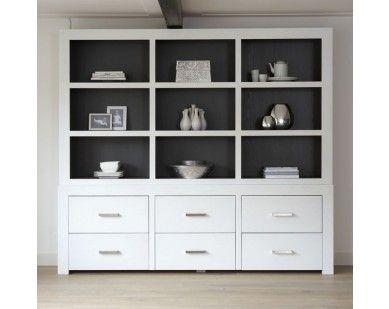 Witte Kast Ikea : Strakke kast moderne kast vakkenkast eiken kast kast maatwerk