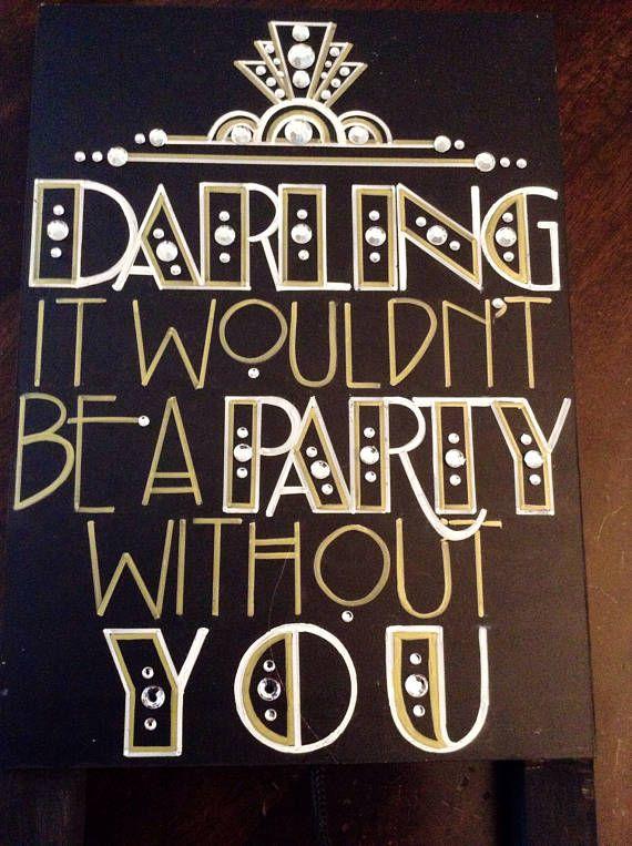 Art Deco Roaring Twenties Vintage Great Gatsby Wedding #20thanniversarywedding
