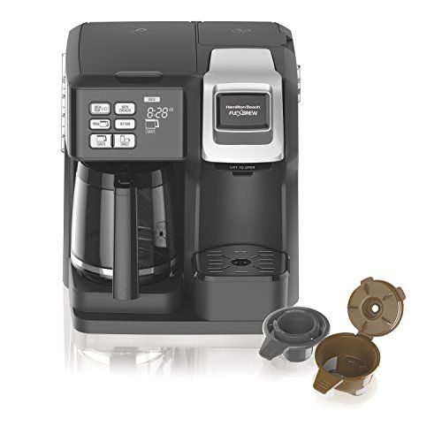 The 2 Way FlexBrew Coffeemaker Maximizes Your Brewing Flexibility And  Offers More Brewing Options Than
