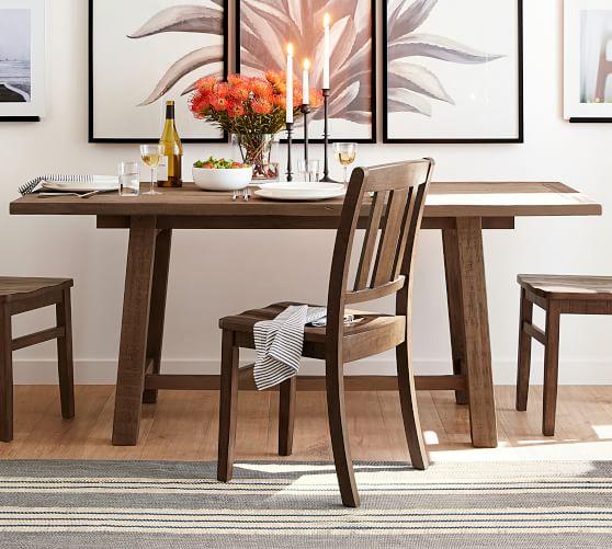 Bartol Reclaimed Wood Dining Table Dining Room Small Reclaimed Pine Dining Table Pine Dining Table