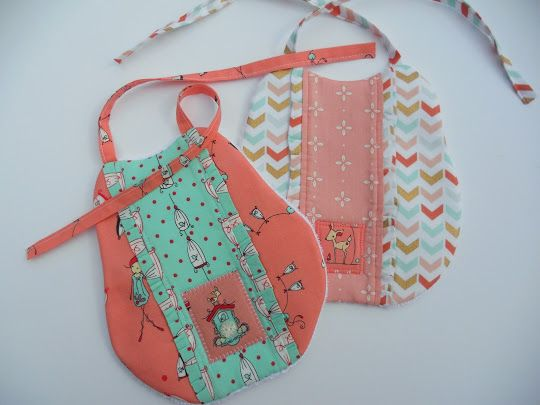 Just Another Hang Up: More of the same... baby bibs.